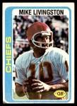 1978 Topps #183  Mike Livingston  Front Thumbnail