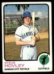 1973 Topps #282  Steve Hovley  Front Thumbnail