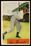 1954 Bowman #154  Don Newcombe  Front Thumbnail
