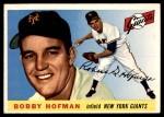 1955 Topps #17  Bobby Hofman  Front Thumbnail