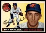 1955 Topps #160  Ray Narleski  Front Thumbnail