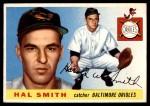 1955 Topps #8  Hal W. Smith  Front Thumbnail