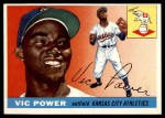 1955 Topps #30  Vic Power  Front Thumbnail