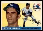 1955 Topps #139  Steve Kraly  Front Thumbnail