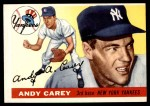 1955 Topps #20  Andy Carey  Front Thumbnail