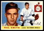 1955 Topps #8  Hal W. Smith  Front Thumbnail