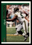 1997 Topps #4  Clyde Simmons  Front Thumbnail
