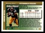 1997 Topps #230  Jerome Bettis  Back Thumbnail