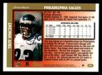 1997 Topps #231  Troy Vincent  Back Thumbnail