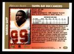 1997 Topps #278  Warren Sapp  Back Thumbnail