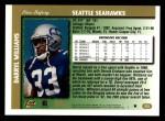 1997 Topps #323  Darryl Williams  Back Thumbnail