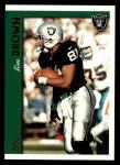 1997 Topps #341  Tim Brown  Front Thumbnail