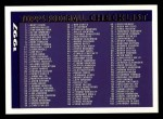 1997 Topps #384   Checklist 1 (1-208) Front Thumbnail
