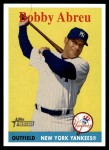 2007 Topps Heritage #14  Bobby Abreu  Front Thumbnail