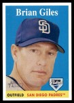 2007 Topps Heritage #28  Brian Giles  Front Thumbnail