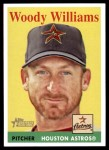 2007 Topps Heritage #35 WT Woody Williams   Front Thumbnail