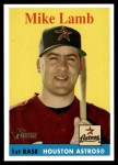 2007 Topps Heritage #104  Mike Lamb  Front Thumbnail