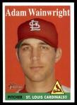 2007 Topps Heritage #248  Adam Wainwright  Front Thumbnail