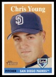 2007 Topps Heritage #292  Chris R. Young  Front Thumbnail