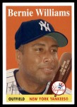 2007 Topps Heritage #332  Bernie Williams  Front Thumbnail