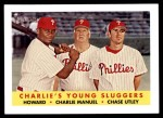 2007 Topps Heritage #386  Chase Utley / Ryan Howard  Front Thumbnail