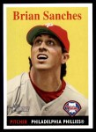 2007 Topps Heritage #474  Brian Sanches  Front Thumbnail