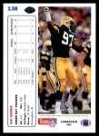 1991 Upper Deck #138  Tim Harris  Back Thumbnail