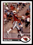 1991 Upper Deck #132  Ricky Proehl  Front Thumbnail