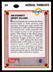 1991 Upper Deck #30  Jim Everett  Back Thumbnail