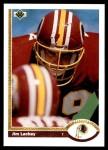 1991 Upper Deck #102  Jim Lachey  Front Thumbnail