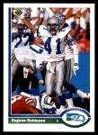1991 Upper Deck #120  Eugene Robinson  Front Thumbnail