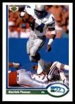 1991 Upper Deck #139  Derrick Fenner  Front Thumbnail