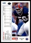 1991 Upper Deck #189  Darryl Talley  Back Thumbnail