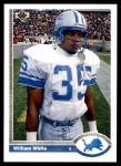 1991 Upper Deck #49  William White  Front Thumbnail
