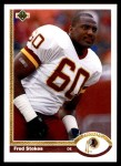 1991 Upper Deck #68  Fred Stokes  Front Thumbnail