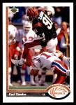 1991 Upper Deck #223  Carl Zander  Front Thumbnail