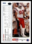 1991 Upper Deck #352  Ray Agnew  Back Thumbnail