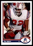 1991 Upper Deck #352  Ray Agnew  Front Thumbnail