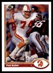 1991 Upper Deck #388  Paul Gruber  Front Thumbnail