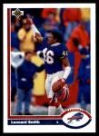 1991 Upper Deck #315  Leonard Smith  Front Thumbnail
