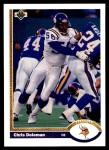 1991 Upper Deck #330  Chris Doleman  Front Thumbnail