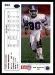 1991 Upper Deck #382  Mark Jackson  Back Thumbnail