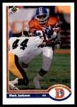 1991 Upper Deck #382  Mark Jackson  Front Thumbnail