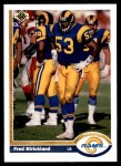 1991 Upper Deck #334  Fred Strickland  Front Thumbnail