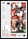 1991 Upper Deck #265  Reggie Cobb  Back Thumbnail
