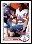 1991 Upper Deck #297  Lorenzo White  Front Thumbnail