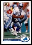 1991 Upper Deck #301  Andre Ware  Front Thumbnail