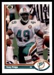 1991 Upper Deck #337  Tony Paige  Front Thumbnail