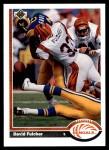 1991 Upper Deck #363  David Fulcher  Front Thumbnail