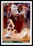 1991 Upper Deck #478   -  Earnest Byner Team MVP Front Thumbnail